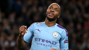 Sterling hat-trick helps Man City hammer Atalanta
