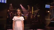 Natalie Portman explains why she wore that Judge Aquilina shirt on 'SNL'