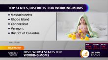 The best and worst states for working mothers