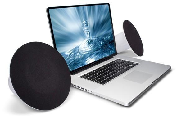 LaCie's Sound2 PC speakers look good... real good