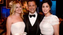 Sarah Silverman Poses for Hilarious Photo With Ex Jimmy Kimmel and His Wife Molly McNearney