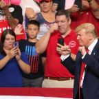 Trump Highlights The Economy During Campaign Kickoff Speech