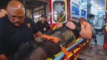Explosive WWE 'Raw' stunt leads to 2 wrestlers being removed on stretchers