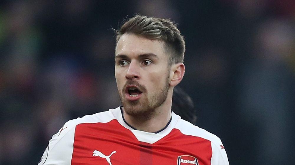 """Arsenal, Ramsey : """"Ravi de jouer pour Wenger"""""""