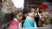 Civilians flee as two big Syria battles enter decisive phases