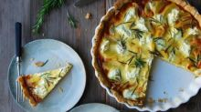 Potato, Chèvre, and Rosemary Quiche Recipe From 'Eat in My Kitchen'