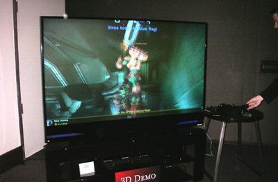 Game exec hints at 3D gaming on Sony's PlayStation 3 in 2009