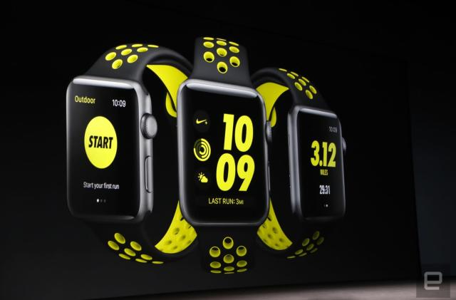 Apple and Nike have made a special edition Watch Series 2