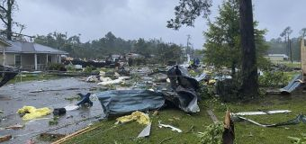 Flood warning as Claudette soaks US south