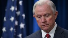 Jeff Sessions, mocked then fired by President Trump, returns to Justice for applause and a chair