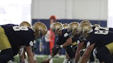 Notre Dame Spring Football Nuggets