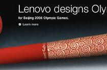 Beijing Olympics to get Lenovo-designed torch, seeded clouds