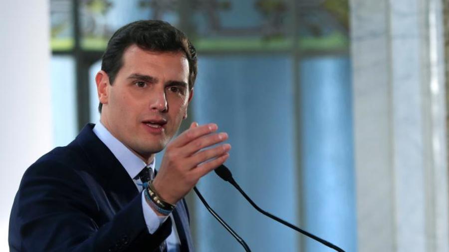 """Rivera explica que quiere pactar con Casado para que haya un gobierno """"serio"""""""