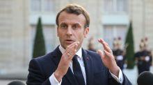 """Européennes: Macron dit être """"acteur"""" pour ne pas que l'Europe """"se disloque"""""""