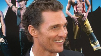 Matthew McConaughey Shows Off His Flexibility In 'Magic Mike'