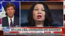 Tucker Carlson Doubles Down on Duckworth Attacks, Calls Her a 'Coward' and 'Fraud'