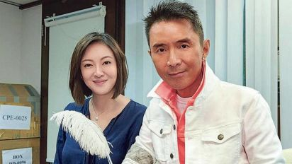 Lam Lei finally marries Taiwanese girlfriend