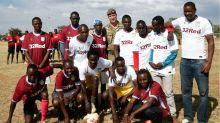 Prince William Breaks Royal Protocol When He Meets His Namesake in Kenya