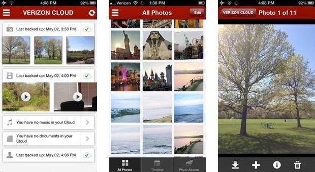 Verizon Cloud spreads to iOS devices, Droid DNA and Galaxy S 4