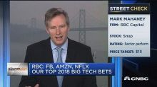 RBC's Mark Mahaney: Our top three 2018 big tech bets