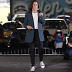 Kamala Harris Dancing in the Rain in Converse Is the Video We All Need Right Now
