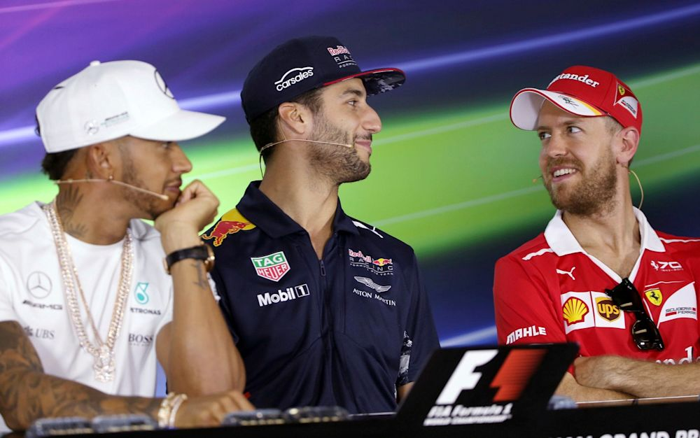 Hamilton faces a renewed challenge from Ferrari's Vettel this season - AP