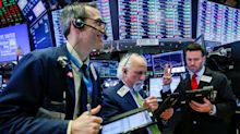Stocks fall amid volatile week on Wall Street