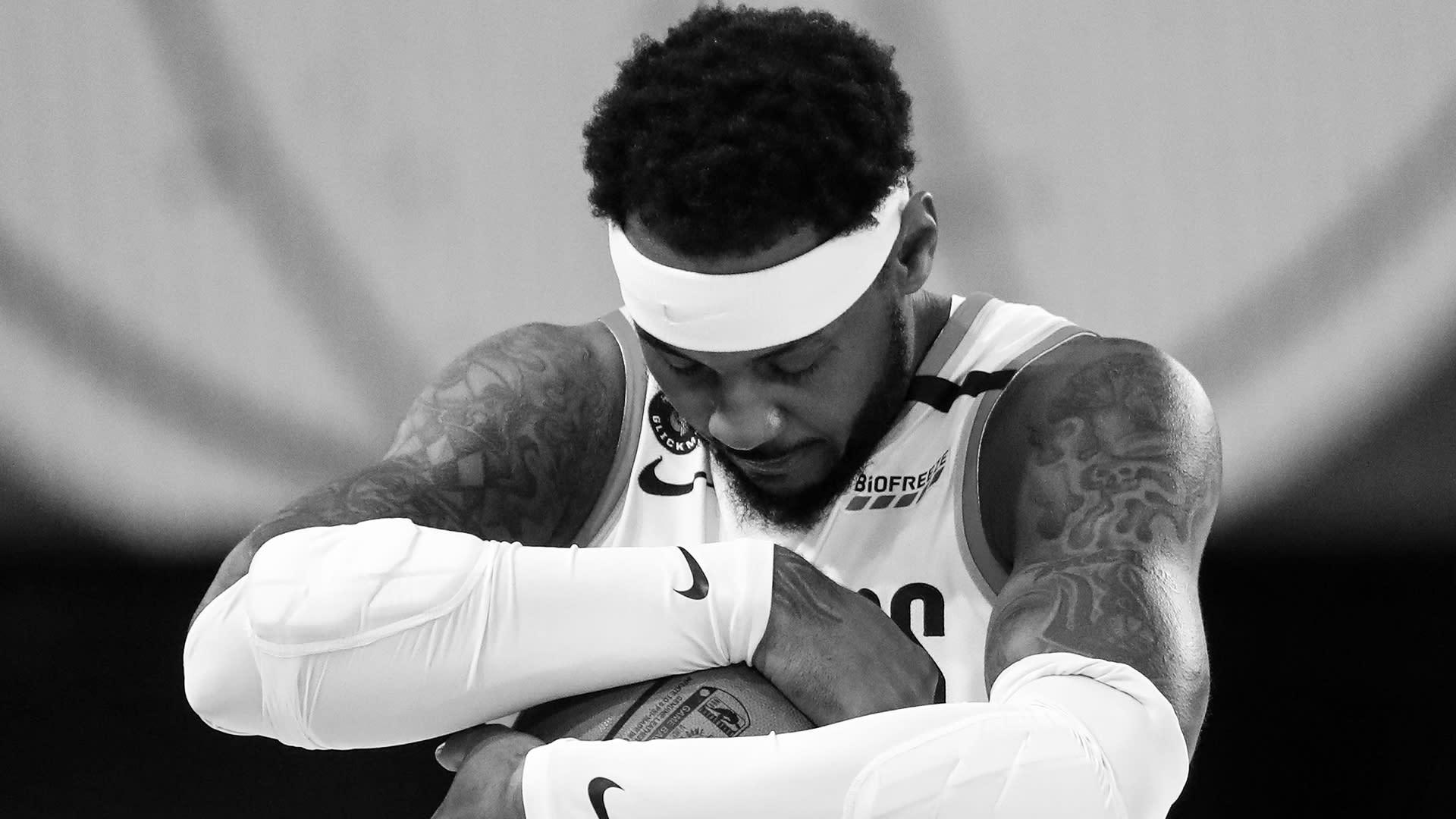 Carmelo Anthony tekrar spor salonuna döndü
