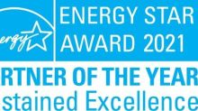 Pentair Earns 2021 ENERGY STAR® Partner of the Year – Sustained Excellence Award