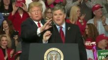 Fox News 'Does Not Condone' Sean Hannity, Jeanine Pirro 'Participating' in Trump Campaign Rally