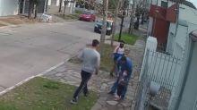 Pesadilla en Quilmes: dos ladrones arrinconaron a un hombre cuando paseaba con su hija de cuatro años