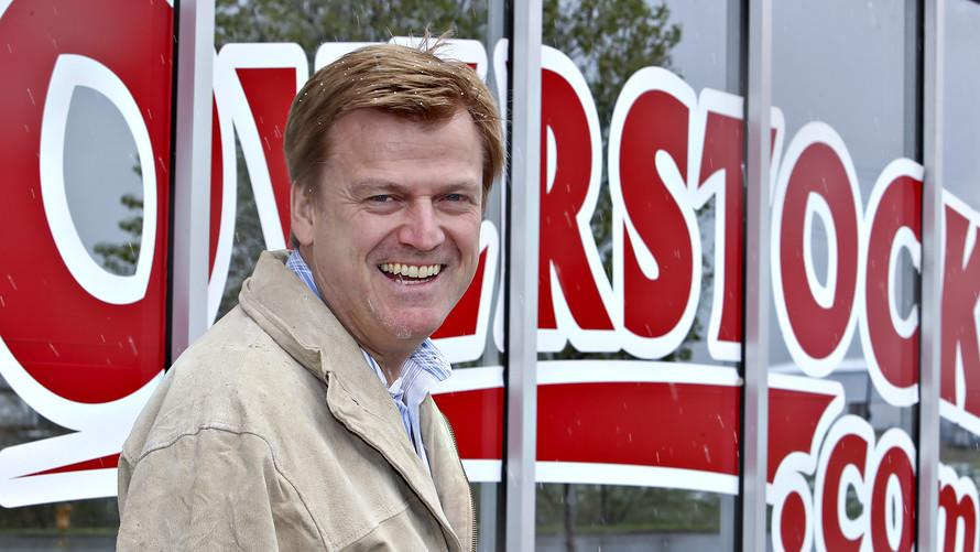 Patrick Byrne sells his Overstock shares, but blames the SEC and 'Deep State'