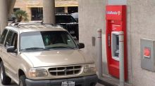 Police make unusual withdrawal from ATM - a man stuck inside