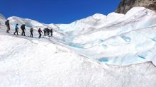 【挪威】Nigardsbreen晴空萬里~ 冰河健行Short blue ice hike