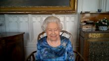 'Gosh, that sounds dangerous': The Queen does Zoom