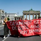Berlin protest against virus curbs draws thousands