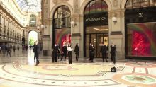 Without tourists, Europe's luxury stores struggle