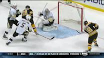 Reilly Smith misses a wide open net