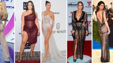 The 38 most outrageously naked celebrity outfits worn in 2017