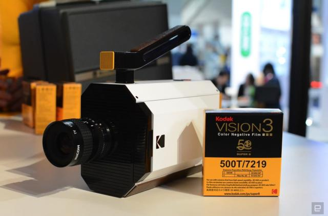 Kodak's Super 8 camera is retro in all the right ways