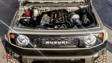 馬力「漲兩倍多」!Suzuki Jimny Mk4「馬力王」動力改式樣