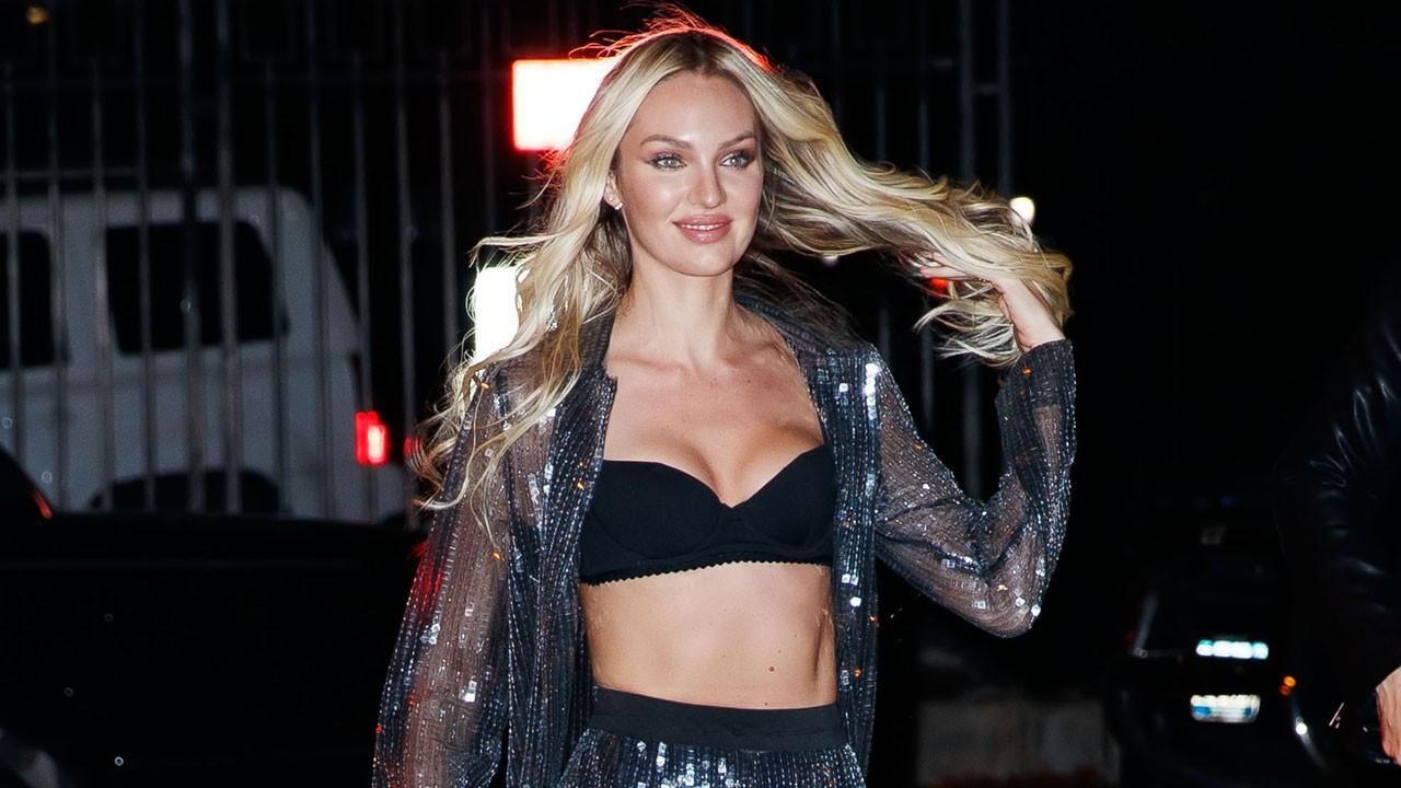 Candice Swanepoel Posts Swimsuit Pics After Clapping Back at Bullies Criticizing Her Post-Baby Body