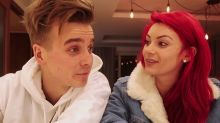 Strictly's Joe Sugg & Dianne Buswell fall during live tour dance