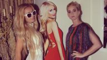 Katy Perry Goes Slumming at Paris Hilton's House