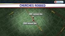 Copper thieves target churches