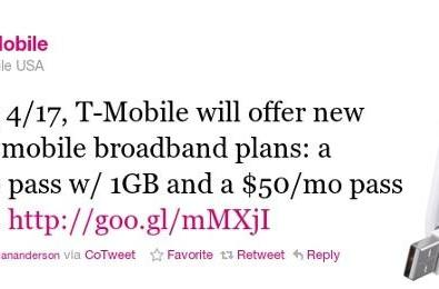 T-Mobile blesses contract-averse with Rocket 4G modem and better data plans