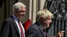 EU accuses Davis and Johnson of leaving Brexit 'mess'
