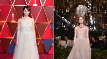 Fresh off the runway: The dresses that made their red carpet debut at the 2017 Oscars