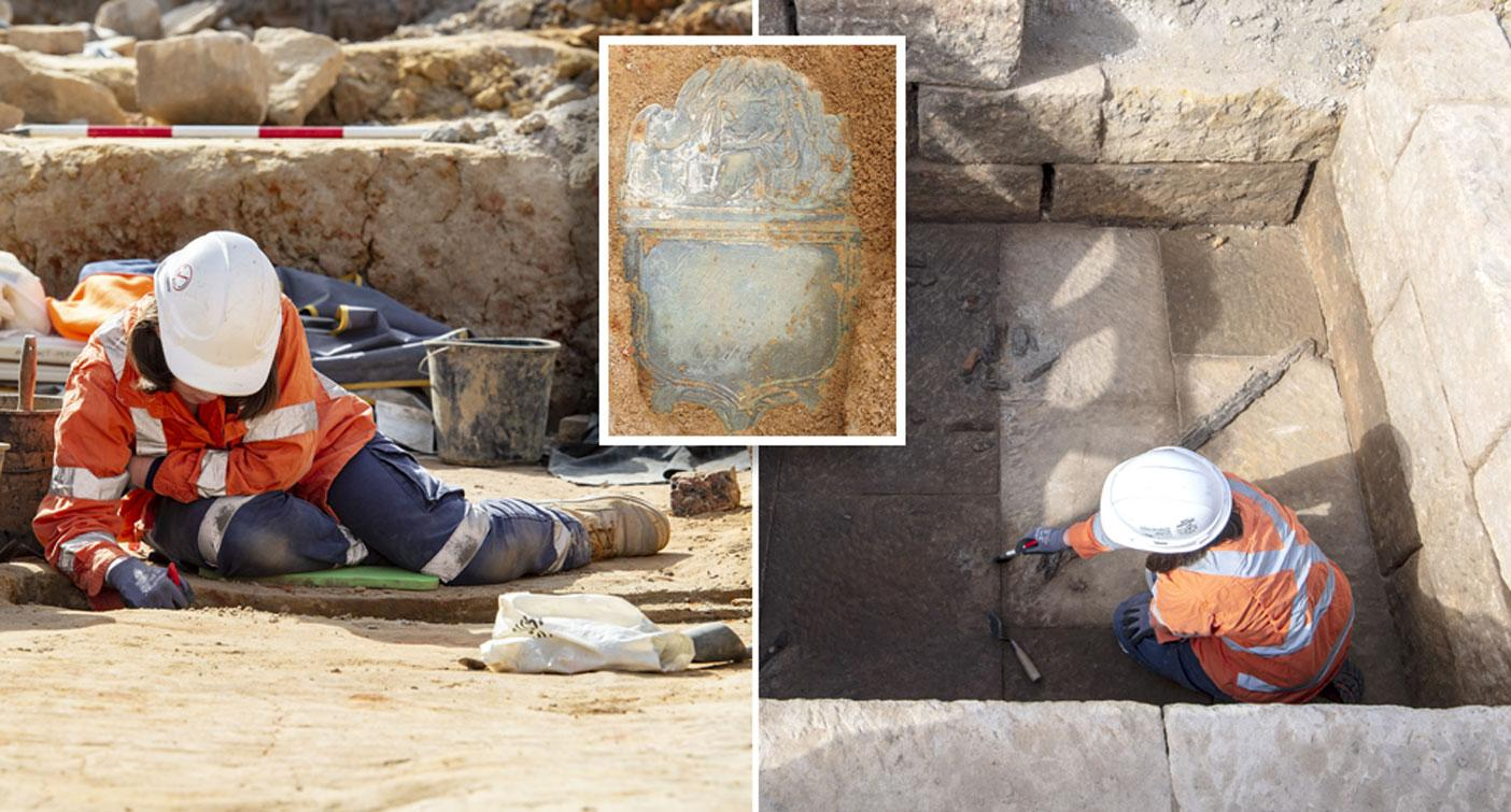 Mystery after 'unique and intriguing' grave found during construction in Sydney