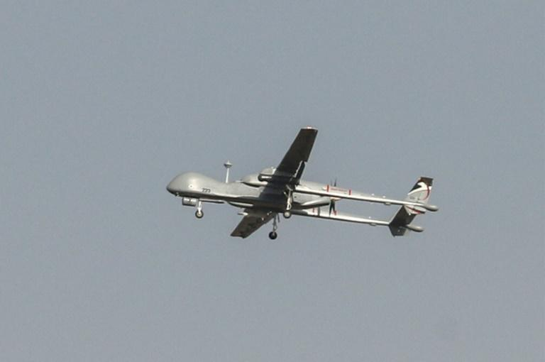 Unmanned aerial vehicles (UAVs) are used daily by Israel's military in and around its borders (AFP Photo/Ahmad GHARABLI)